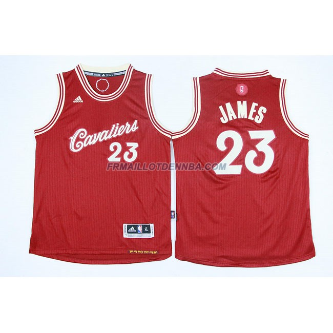 Enfants Maillot Basket Cavaliers James 23 Rouge 2015