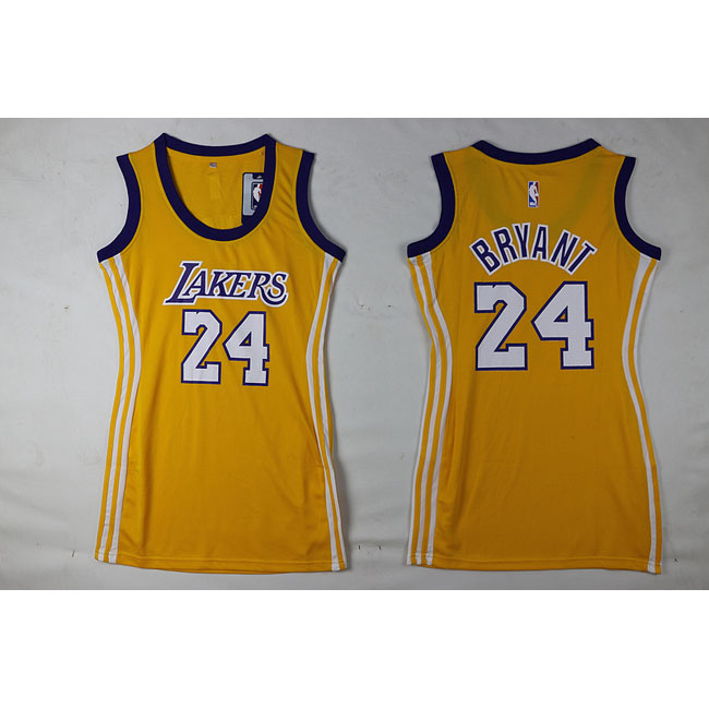 femmes maillot basket los angeles lakers bryant 24 jaune 2016 yt 16. Black Bedroom Furniture Sets. Home Design Ideas