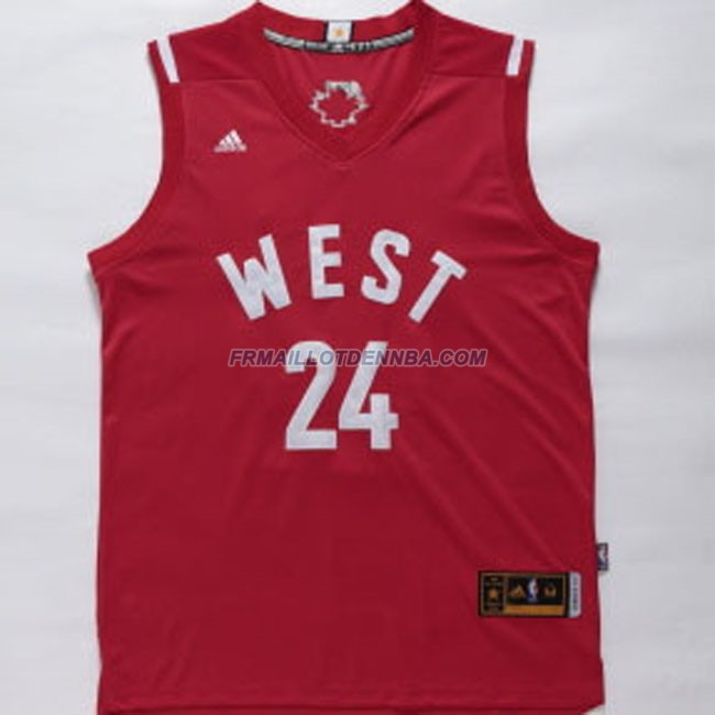 Maillot Basket All Star Bryant 24 Rouge 2016