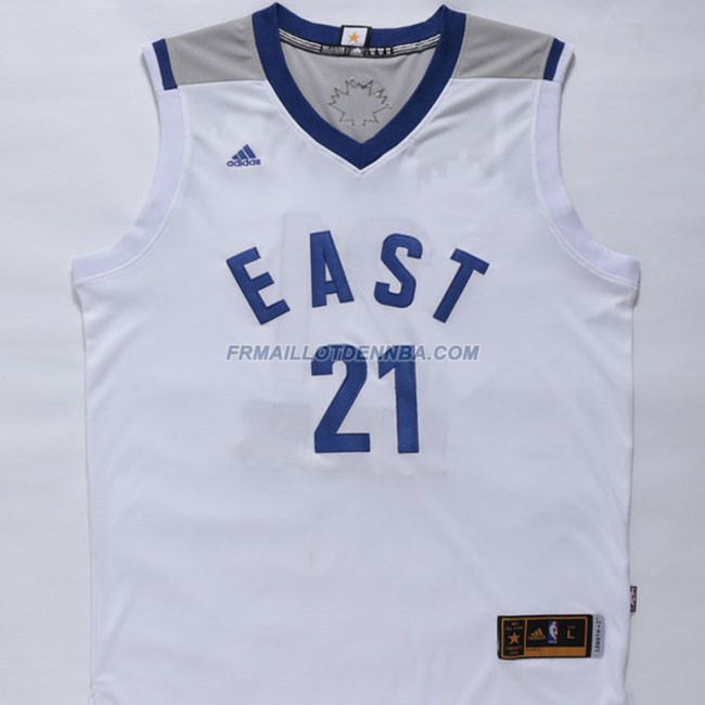 Maillot Basket All Star Butler 21 Blanc 2016