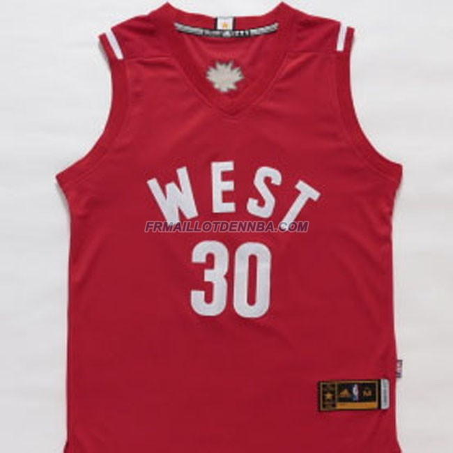 Maillot Basket All Star Curry 30 Rouge 2016