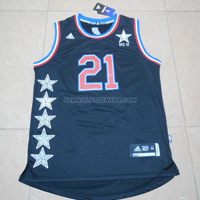 Maillot Basket All Star Duncan 21 Noir 2015
