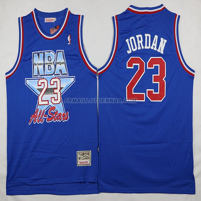 Maillot Basket All Star Jordan 23 Bleu 1993