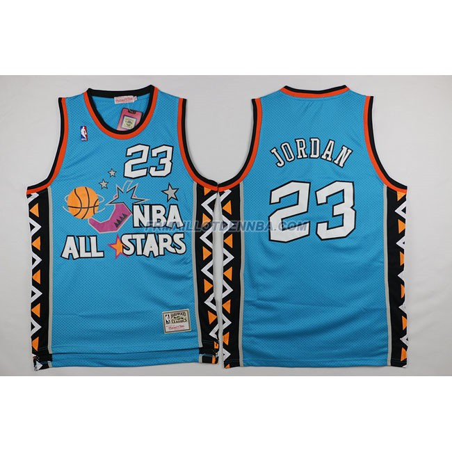 Maillot Basket All Star Jordan 23 Bleu 1996