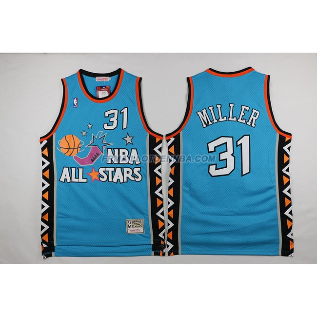 Maillot Basket All Star Miller 31 Bleu 1996