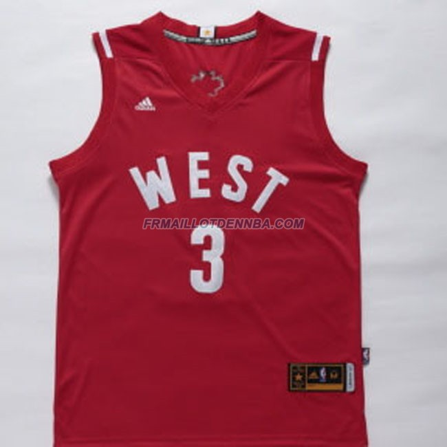 Maillot Basket All Star Pual 3 Rouge 2016