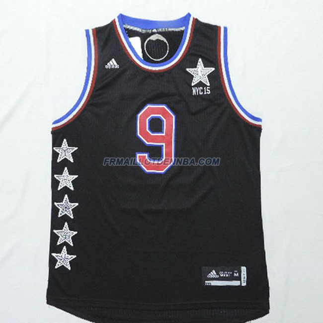 Maillot Basket All Star Rondo 9 Noir 2015