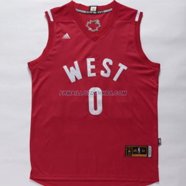 Maillot Basket All Star Westbrook 0 Rouge 2016
