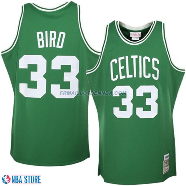 Maillot Basket Boston Celtics Bird 33 Vert 2015
