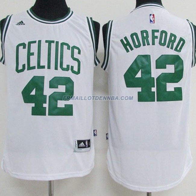 Maillot Basket Boston Celtics Horford 42 Blanc 2015