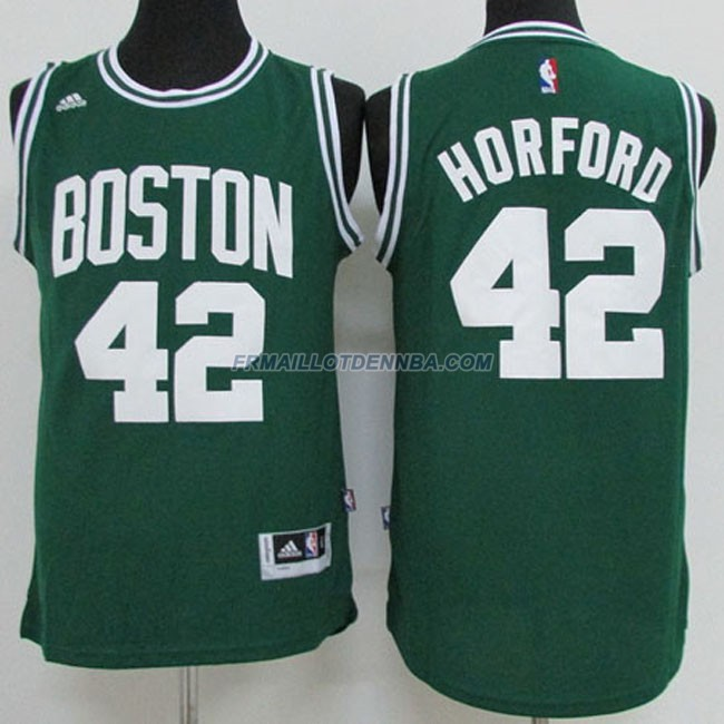 Maillot Basket Boston Celtics Horford 42 Vert 2015