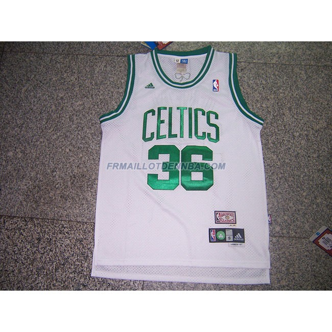 Maillot Basket Boston Celtics Oneal 36 Blanc 2015