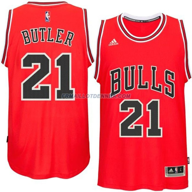 Maillot Basket Chicago Bulls Butler 21 Rouge 2016