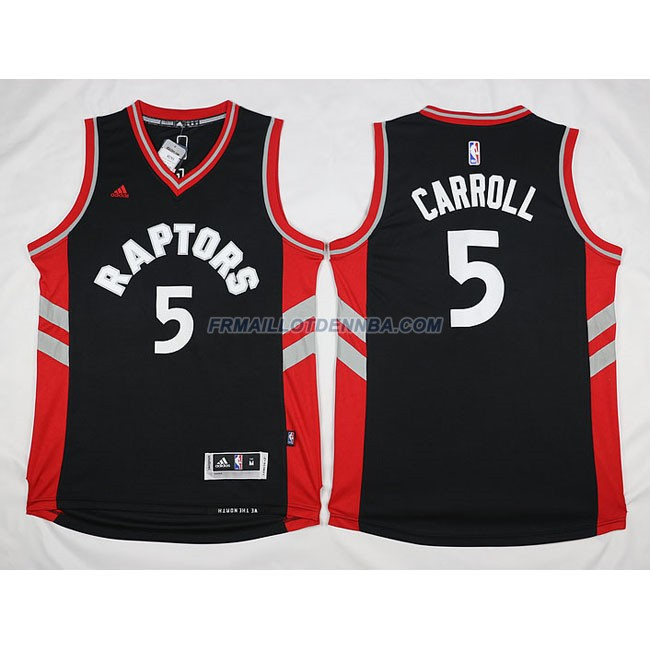 Maillot Basket Chicago Bulls Carroll 5 Noir 2016