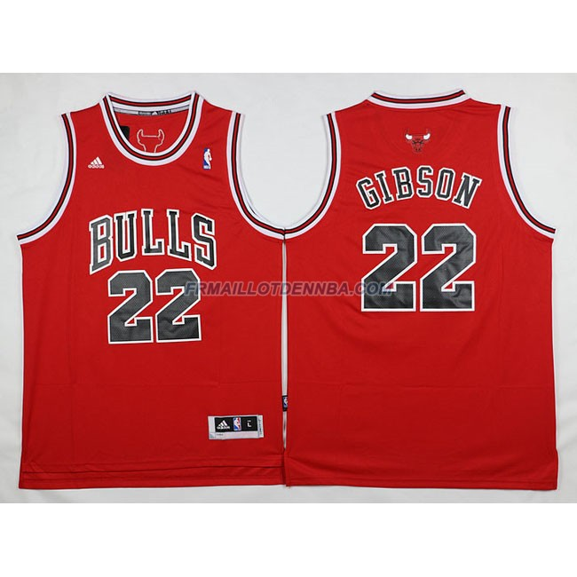 Maillot Basket Chicago Bulls Gibson 22 Rouge 2016