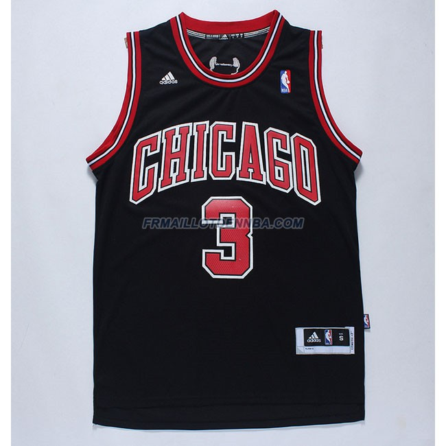 Maillot Basket Chicago Bulls Mcdermott 3 Noir 2016