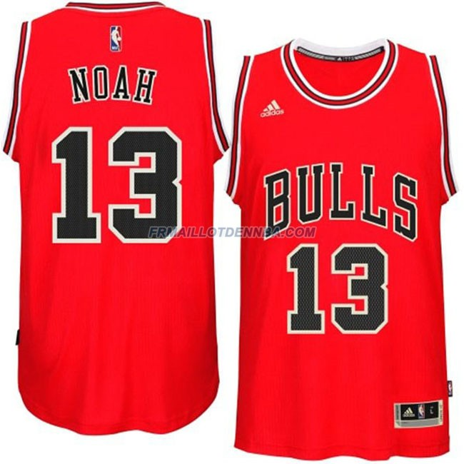 Maillot Basket Chicago Bulls Noah 13 Rouge 2016