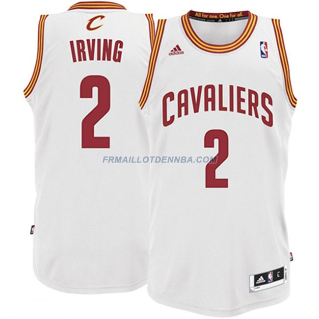 Maillot Basket Cleveland Cavaliers Irving 2 Blanc 2016