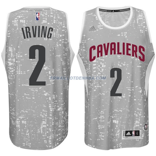 Maillot Basket Cleveland Cavaliers Irving 2 Gris 2016