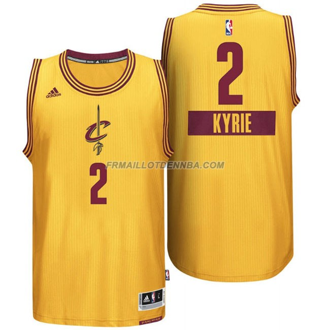 Maillot Basket Cleveland Cavaliers Irving 2 Jaune 2014