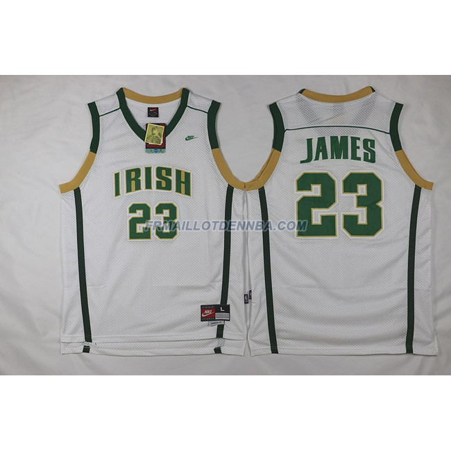 Maillot Basket Cleveland Cavaliers James 23 Blanc 2010