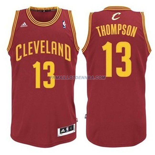 Maillot Basket Cleveland Cavaliers Thompson 13 Rouge 2016