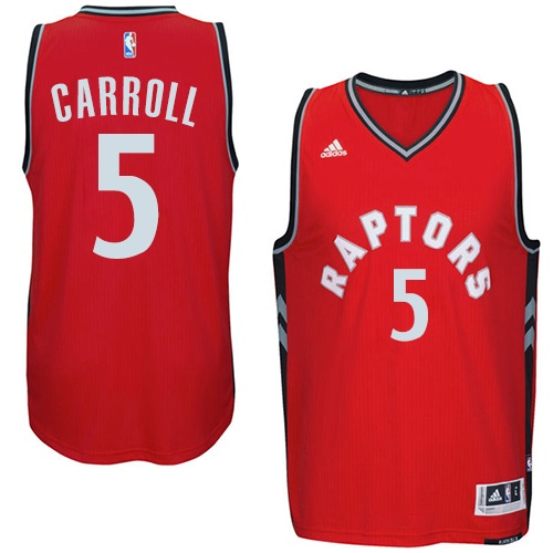 Maillot Toronto Raptors Carroll 5 Rouge 2016