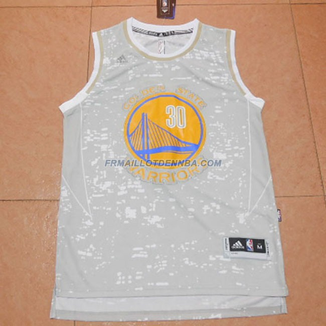 Maillot Basket Golden State Warriors Curry 30 Gris 2012