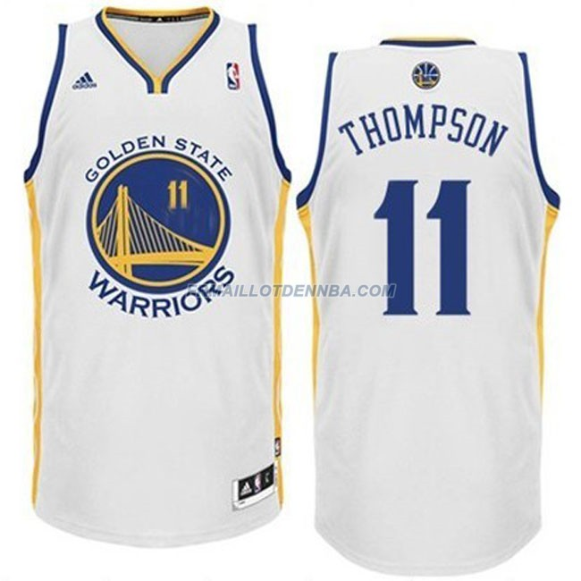 Maillot Basket Golden State Warriors Thompson 11 Blanc 2016