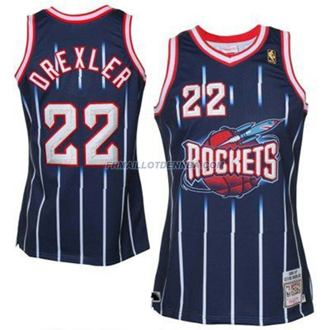 Maillot Basket Houston Rockets Drexler 22 Bleu 2016