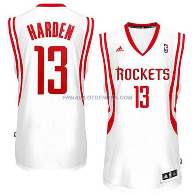 Maillot Basket Houston Rockets Harden 13 Blanc 2016