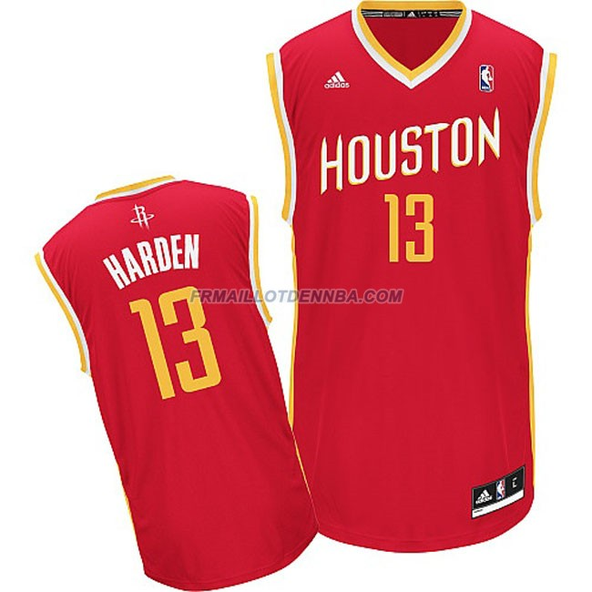 Maillot Basket Houston Rockets Harden 13 Rouge 2016