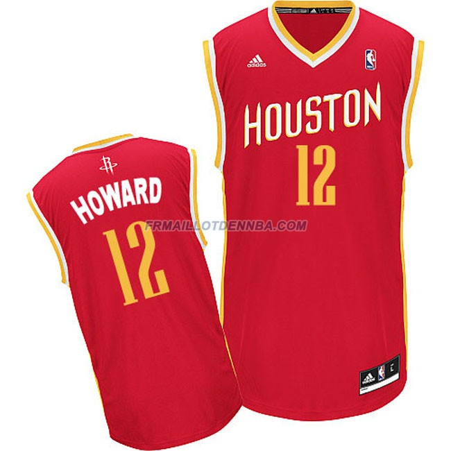 Maillot Basket Houston Rockets Howard 12 Rouge 2016