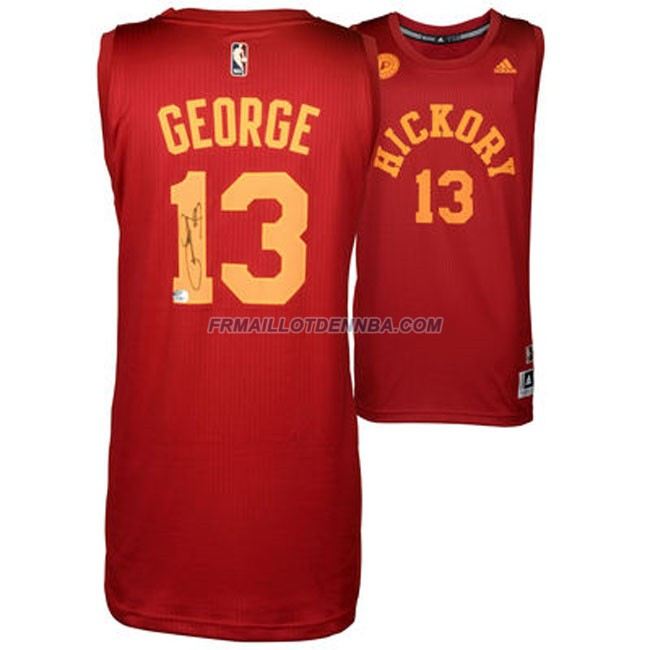 Maillot Basket Indiana Pacers George 13 Rouge 2014