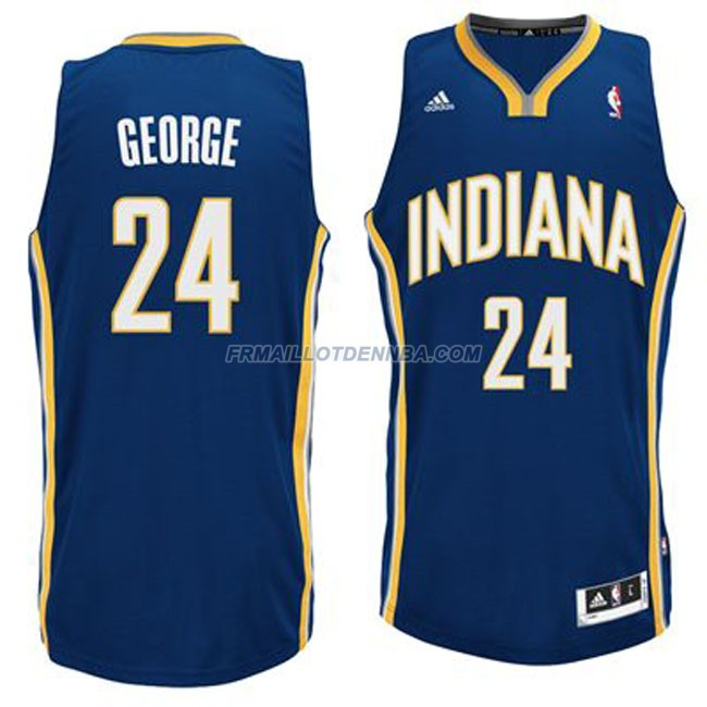 Maillot Basket Indiana Pacers George 24 Bleu 2016
