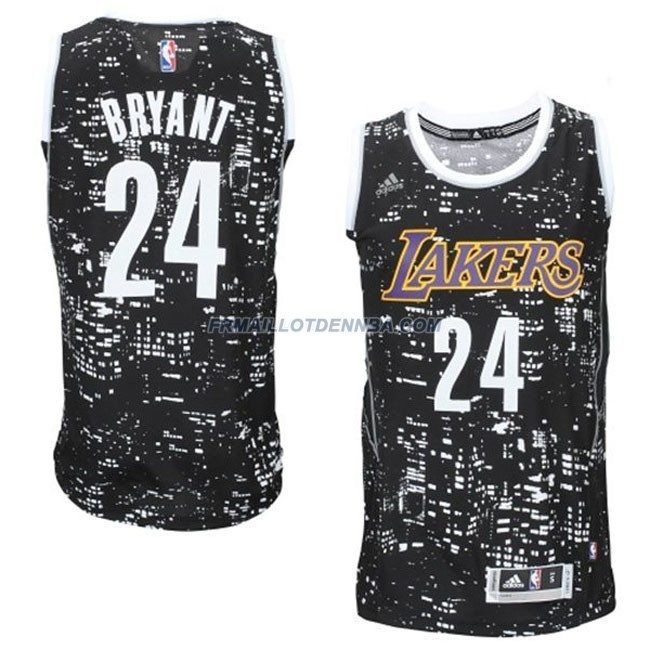 Maillot Basket Los Angeles Lakers Bryant 24 Noctilucent 2016