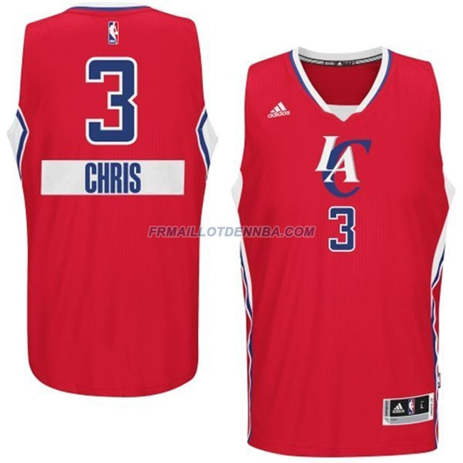 Maillot Basket Los Angeles Clippers Chris 3 Rouge 2014