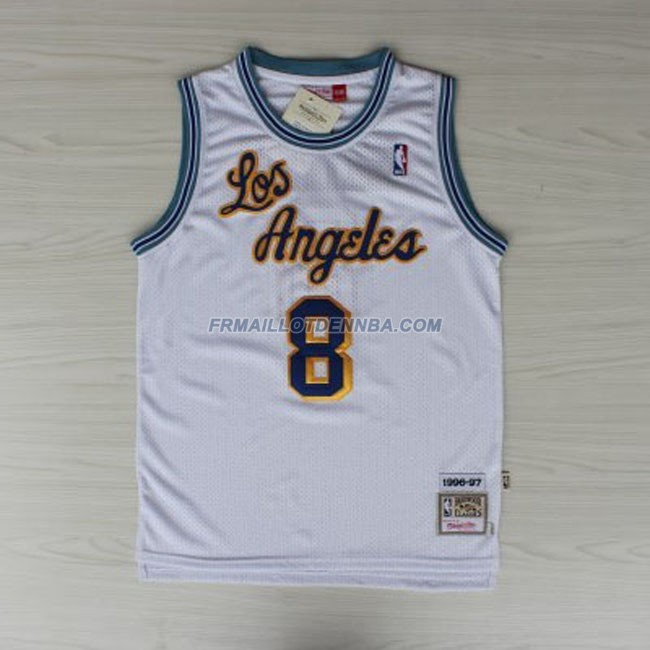 Maillot Basket Los Angeles Lakers Bryant 8 Blanc 2016
