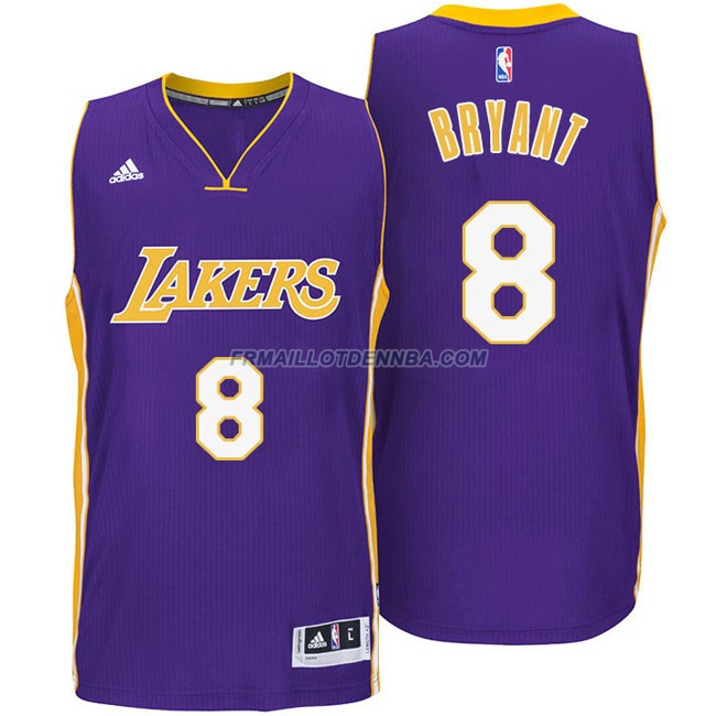 Maillot Basket Los Angeles Lakers Bryant 8 Pourpre 2016