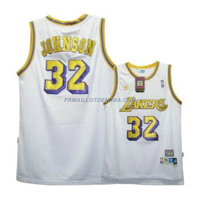 Maillot Basket Los Angeles Lakers Johnson 32 Blanc 2016