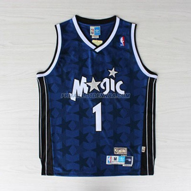 Maillot Basket Orlando Magic Hardaway 1 Bleu 2016