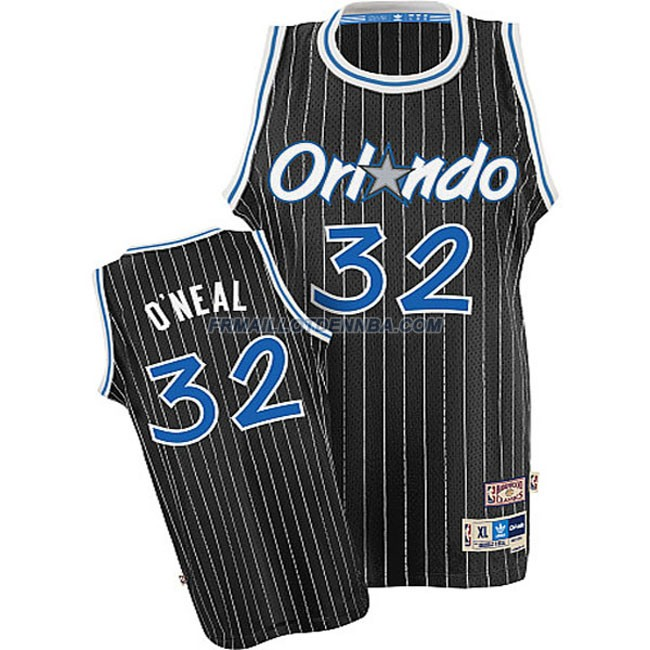 Maillot Basket Orlando Magic Oneal 32 Noir 2015