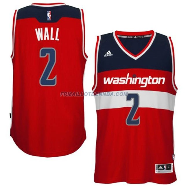 Maillot Basket Washington Wizards Wall 2 Rouge 2016