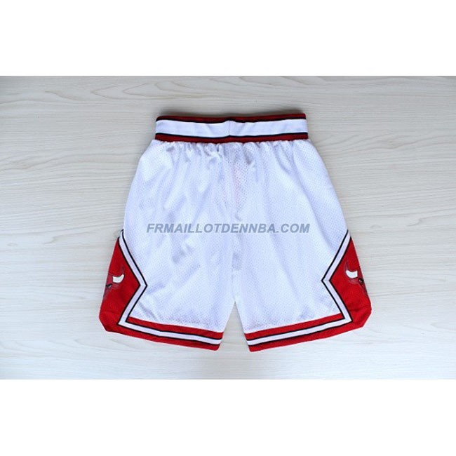 Pantalon Basket Chicago Bulls Blanc 2016