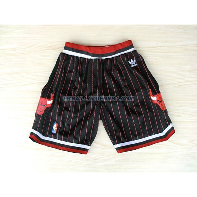 Pantalon Basket Chicago Bulls Noir 2016