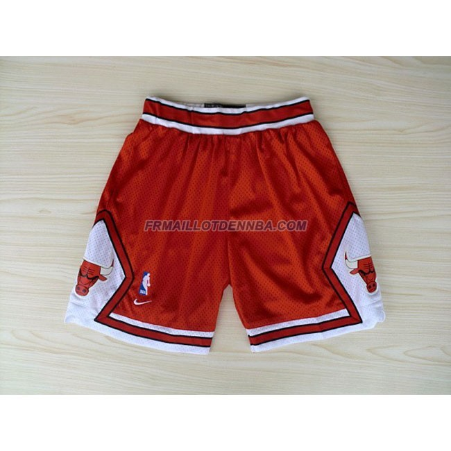 Pantalon Basket Chicago Bulls Rouge 2016