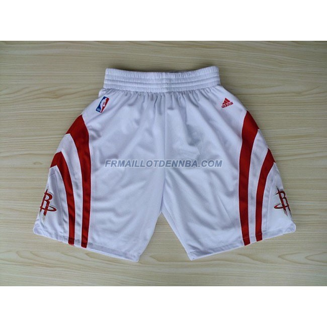 Pantalon Basket Houston Rockets Blanc