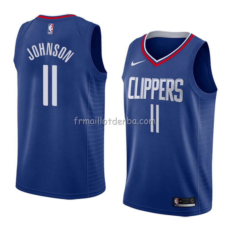 Maillot Los Angeles Clippers Brice Johnson Icon 2018 Bleu