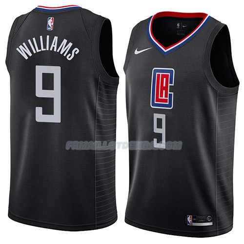 Maillot Los Angeles Clippers C.j. Williams Statement 2018 Noir