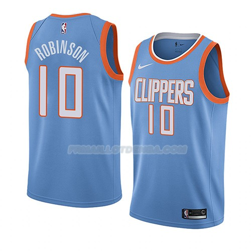 Maillot Los Angeles Clippers City Jerome Robinson Ciudad 2018 Bleu